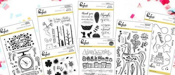 Pinkfresh Studio June Stamps